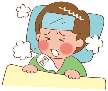 インフルエンザで頭痛!さらに目の奥が痛くなることってある?